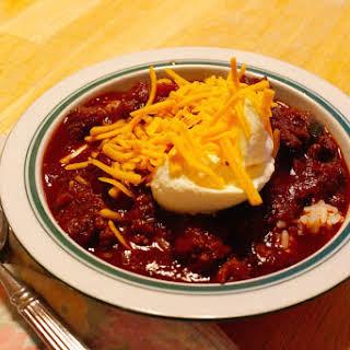 Paleo Chili Con Carne.