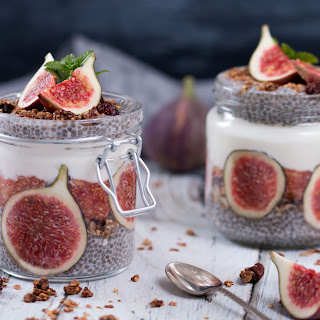 Fig Chia Pudding.