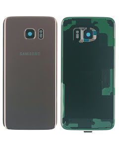 Galaxy S7 Edge Back Cover Pink Gold