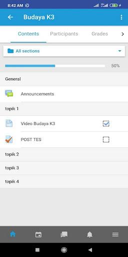 E-Learning screenshot 5