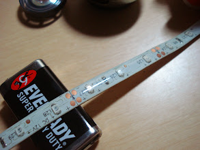 Photo: 12V LED Strip. I have decided to use LED strip during the inception of this project. The strip will avoid much of the soldering and will make the final output clean. I got this for free from the Motor Parts Supply shop of my brother-in-law.