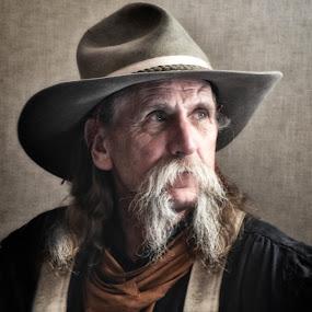 Cowboy by John & Sharon Green - People Portraits of Men ( wildhorse, lacy j dalton )