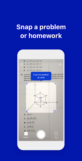 Conects Q&A: Photo Math Solver screenshots 1