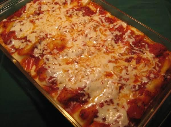 Manicotti (the Easy Way) Recipe