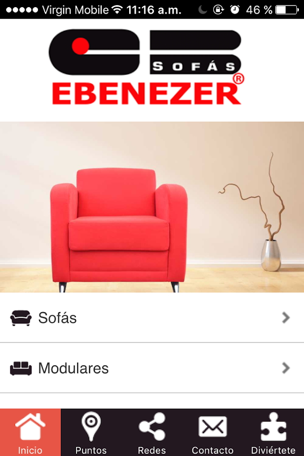 Ebenezer Muebles- screenshot