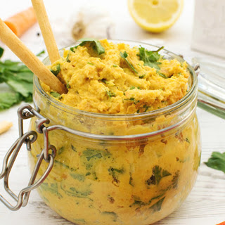 Carrot and Coriander Dip [Vegan] Recipe