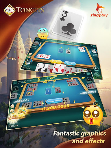 Tongits ZingPlay - Top 1 Free Card Game Online filehippodl screenshot 2