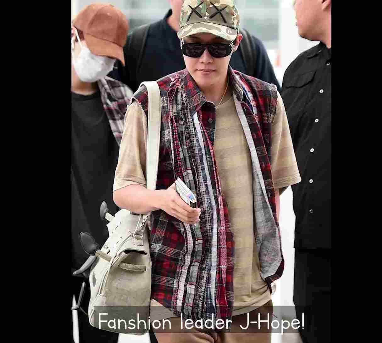 j-hope fashion clothes