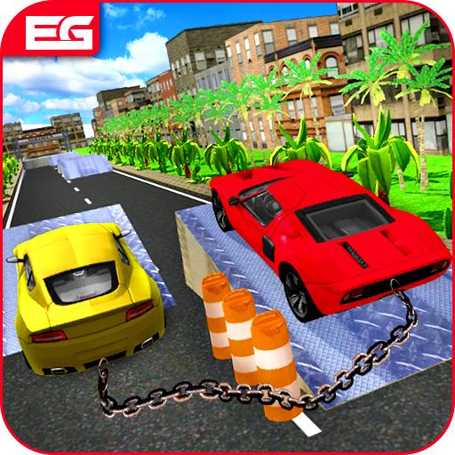 Chained Cars : Xtreme Break Chain Rivals
