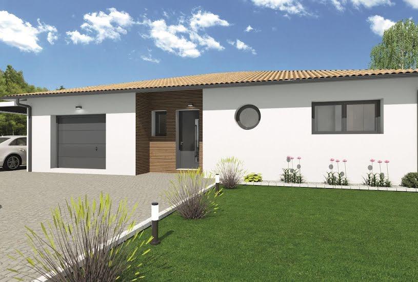 Vente Terrain + Maison - Terrain : 540m² - Maison : 118m² à Pessac (33600)