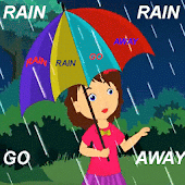 Rain Rain Go Away Kids Poem