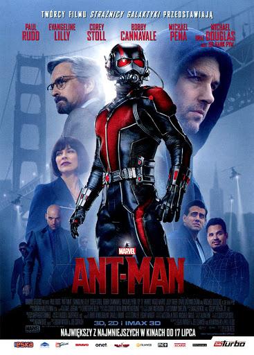 Przód ulotki filmu 'Ant-Man'