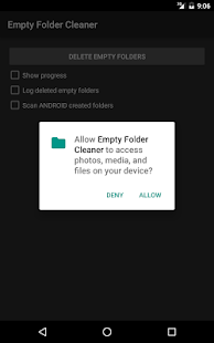 Empty Folder Cleaner- screenshot thumbnail