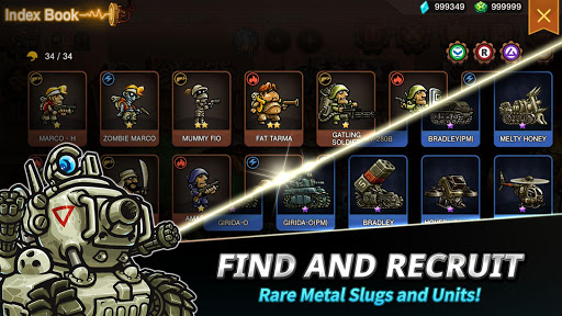 Metal Slug Infinity: Idle Role Playing Game screenshots 4