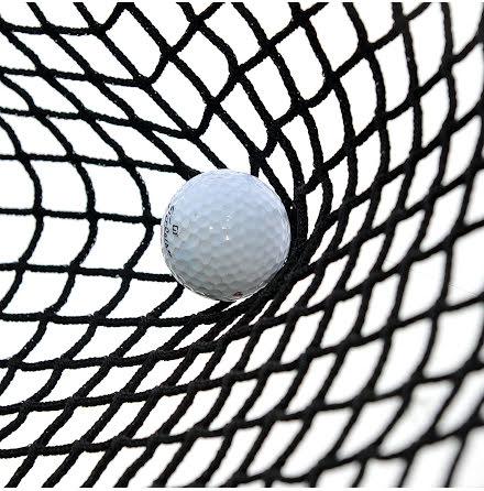 Golfnät svart nylon 20mm maska, tråd ca 1mm