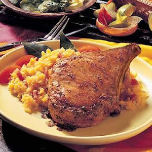 Caribbean-style Pork Rib Chops (Costillitas De Cerdo)