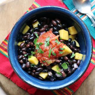 Black Bean Mango Bowl.