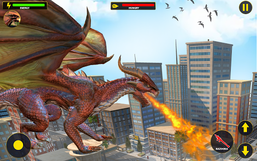 Flying Dragon City Attack 1.0.8 screenshots 12