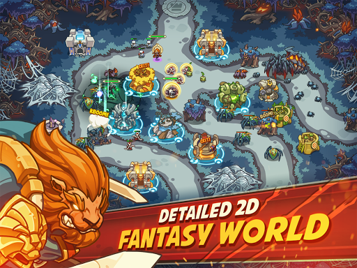 Empire Warriors Premium: Tower Defense Games 0.5.4 screenshots 1