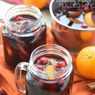 Cranberry Orange Mulled Wine.