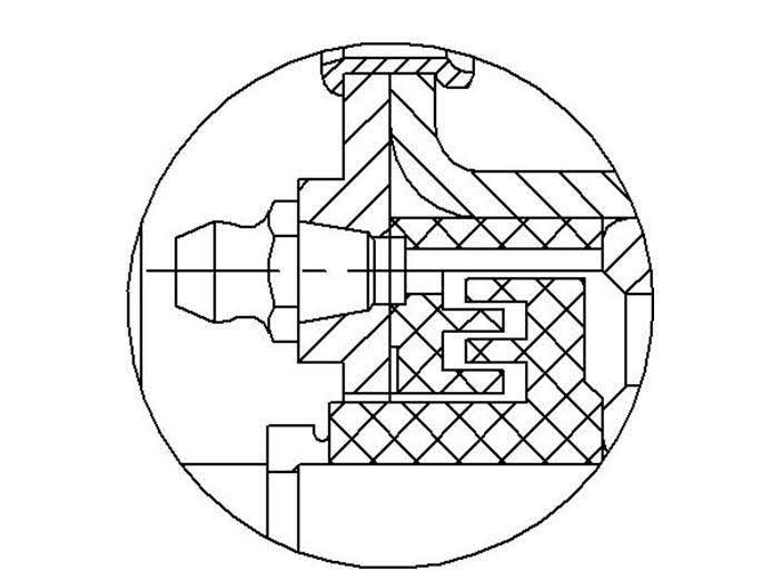 Рис.4 Вариант с установкой масленки на крышке.