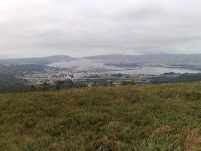 Photo: Vista de la Ría de Ferrol desde Coto do Rei