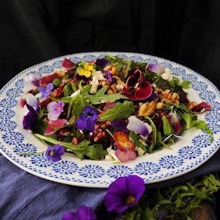 Roasted Beetroot Buckwheat Salad.