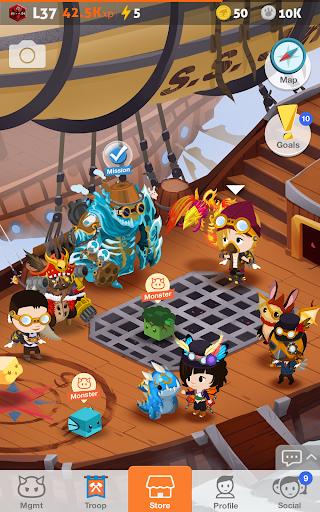 Battle Camp - Monster Catching screenshot 14