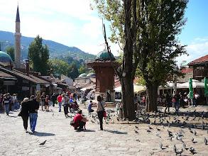 Photo: Szarajevó - Bascsarsija, Szarajevo török városrésze, Bascsarsija, Oszmán, iszlám, Az Oszmán óvárosban