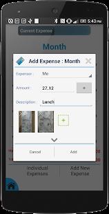Expense Manager & Divider - screenshot thumbnail