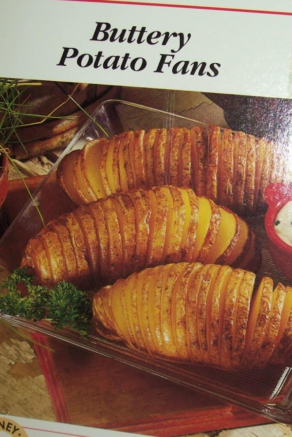 Buttery Potato Fans Recipe