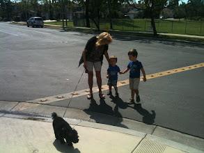 Photo: Grandma, Tucker, and Boys