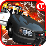 Crazy Cop-Chase&Smash 3D Icon