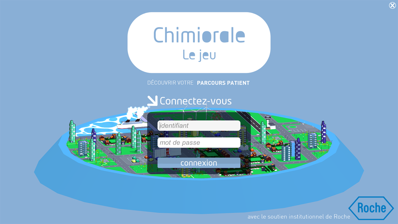 Chimiorale – Capture d'écran