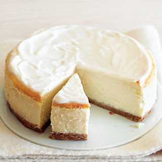 Luscious But Low-Fat Cheesecake.