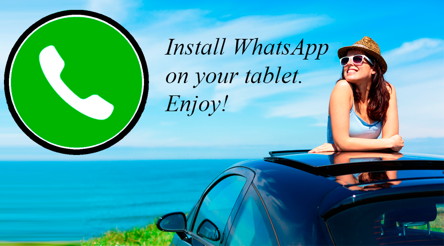 Screenshots of Run WhatsApp on tablet for Android