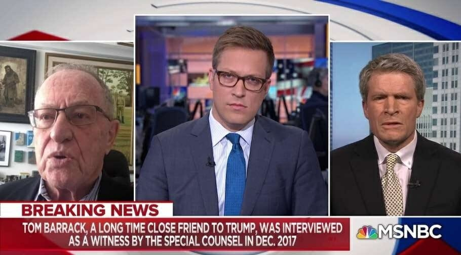 Dershowitz to never-Trumper: 'You Lie Through Your Teeth!'