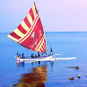 Perahu Layar by Hsn Doel - Transportation Boats (  )