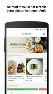 GorryWell: Healthy Food Delivery & Nutrition Coach- screenshot thumbnail