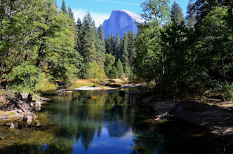 Photo: Half Dome and the Merced River by Barbara Matthews 319/365