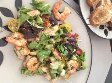 Shrimp&Tofu Salad