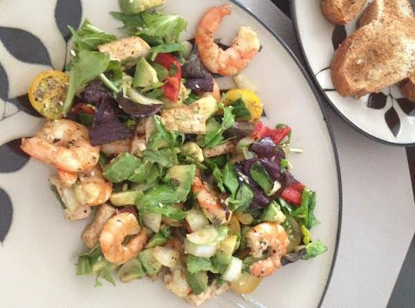 Shrimp&tofu Salad Recipe