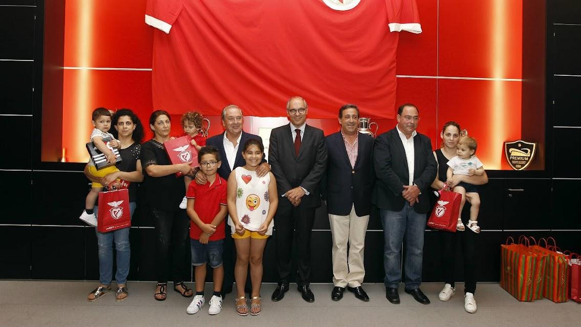 Benfica apoia vítimas da tragédia na pirotecnia de Lamego
