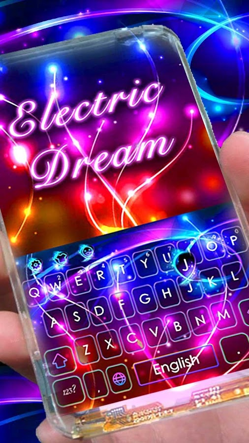 Electric Color Dream Theme- screenshot