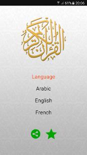 Quran karim mp3 offline - náhled