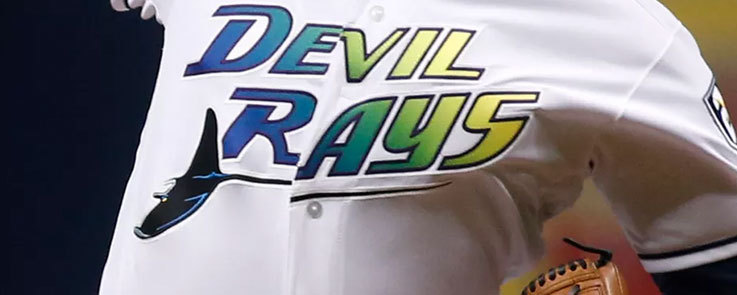 Tampa Bay Devil Rays jersey