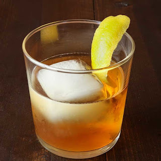 Spiced Tequila Old Fashioned.