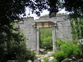 Photo: Entrance to the Temple of Marcus Aurelius Archepolis ********** Ingang van de Tempel gewijd aan Marcus Aurelius Archepolis