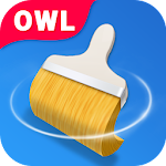 Owl Cleaner Icon