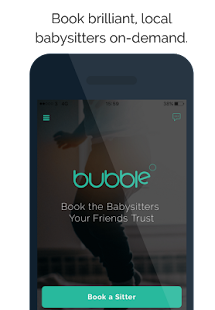 Bubble - Find a Babysitter Now- screenshot thumbnail